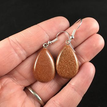 Goldstone Jewelry Earrings #kZqPImDPbDA