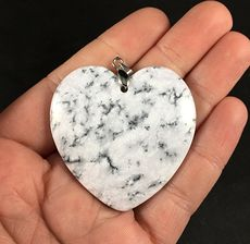 Gorgeous Heart Shaped African Dendrite Moss Opal Stone Pendant #Ak5XZ7esiOY