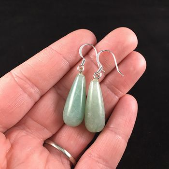 Green Aventurine Stone Jewelry Earrings #1NCMiGye9LU