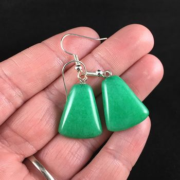 Green Stone Jewelry Earrings #pK1nIyz26qg