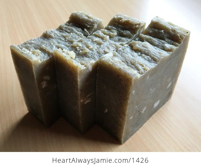 Handmade Thyme Herb Hand Kitchen and Body Bar Soap Lightly Scented for Sensitive People Whole Loaf Can Be Made - #HnhXQhMjbBg-2