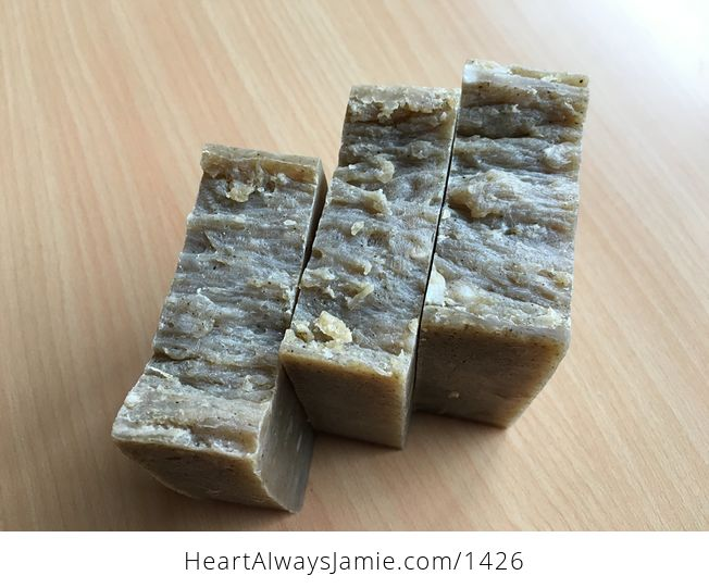 Handmade Thyme Herb Hand Kitchen and Body Bar Soap Lightly Scented for Sensitive People Whole Loaf Can Be Made - #HnhXQhMjbBg-3