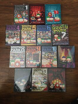 Lot of South Park Dvds Seasons 1 14 Plus Christmas Time in South Park #4JVVzYXD1Zk