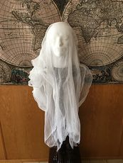 Male Ghost Head Spooky Indoor Halloween Decoration #MF2aonW7vo4