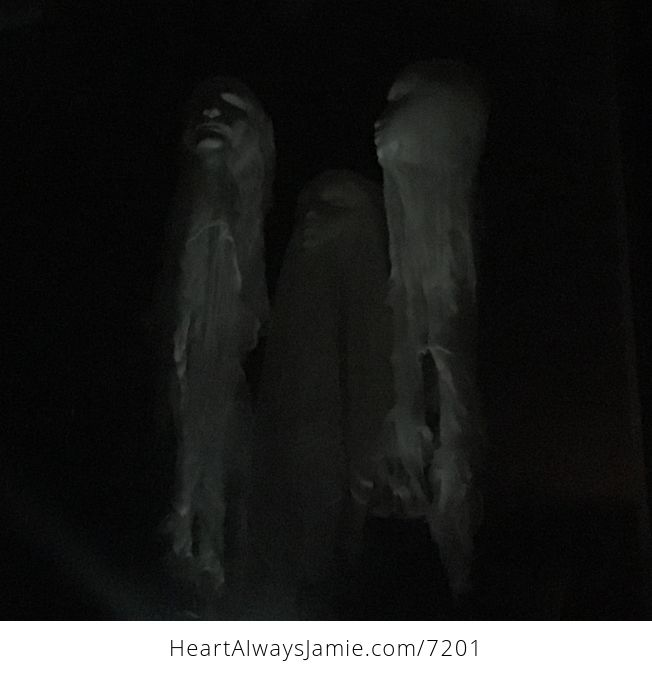 Male Ghost Head Spooky Indoor Halloween Decoration - #MF2aonW7vo4-3