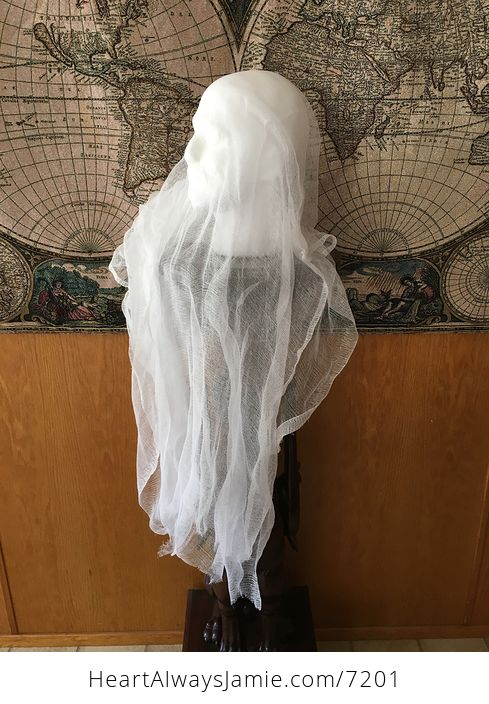 Male Ghost Head Spooky Indoor Halloween Decoration - #MF2aonW7vo4-6