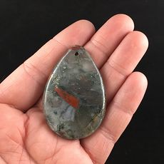 Natural African Bloodstone Jewelry Pendant #BMywtFgDwws