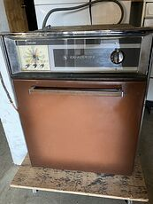 Retro Frigidaire Brown Wall Oven #m8912jK1WFw