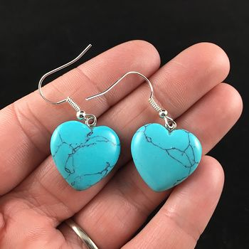 Turquoise Stone Jewelry Earrings #VMg2gIjgCfk