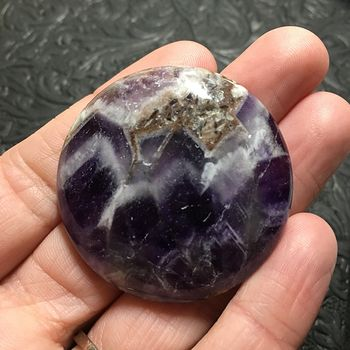White and Purple Round Brazil Amethyst Stone Pendant Jewelry #29D7bmvGmy0